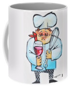 Wine And Wisk Chef Coffee Mug