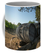 Wine Barrels At Vineyard Coffee Mug