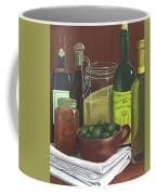 Wine Bottles And Jars Coffee Mug