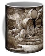Wine Country Sepia Vignette Coffee Mug
