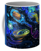 Wine Galaxy Coffee Mug