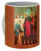 Wine Into Water Coffee Mug