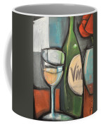 Wine Is Bottled Poetry Coffee Mug