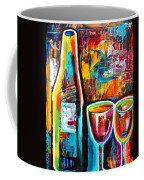 Wine Lovers Abstract Coffee Mug