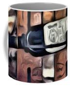 Wine Rack Coffee Mug