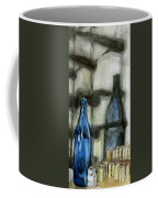 Wine Rack Shadows Coffee Mug