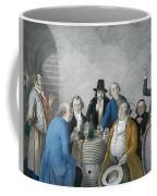 Wine Tasters In A Cellar Coffee Mug