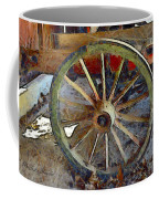 Wine Wagon Wheel Coffee Mug