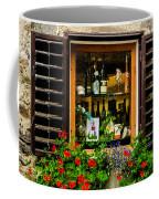 Wine Window Coffee Mug