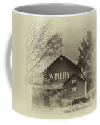 Winery In Sepia Coffee Mug