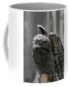 Wings Above A Tawny Frogmouth That Looks Interesting Coffee Mug