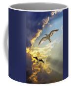 Wings Against The Storm Coffee Mug