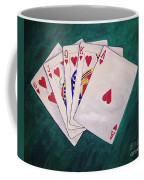 Wining Hand 2 Coffee Mug