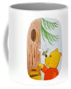 Winnie The Pooh And His Lunch Coffee Mug