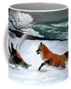 Winslow Homer's, 1893 ' The Fox Hunt ', Revisited 2016 Coffee Mug