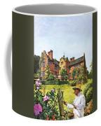 Winston Churchill Painting At Chartwell Coffee Mug