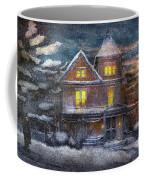 Winter - Clinton Nj - A Victorian Christmas  Coffee Mug
