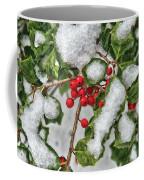 Winter - Ice Coated Holly Coffee Mug