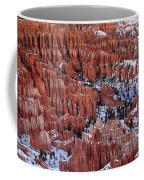 Winter Afternoon At Inspiration Point Bryce Canyon National Park  Utah Coffee Mug