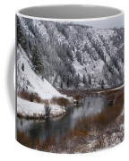 Winter Along The Salt Coffee Mug