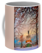 Winter And The Tug Boat Coffee Mug