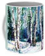 Winter Aspen Coffee Mug