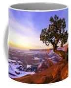Winter At Dead Horse Coffee Mug