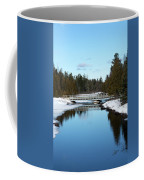 Winter At Hickey Creek Coffee Mug