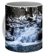 Winter At Mill Creek Falls No. 1 Coffee Mug