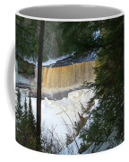 Winter At Tahquamenon Coffee Mug