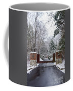 Winter At The Gate Coffee Mug