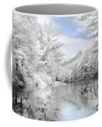 Winter At The Reservoir Coffee Mug by Lori Deiter