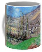 Winter At The Val De Falaise Coffee Mug