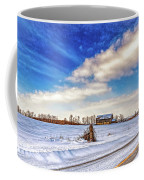 Winter Barn 3 - Paint Coffee Mug