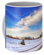 Winter Barn 3 Coffee Mug