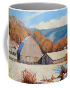 Winter Barns Coffee Mug