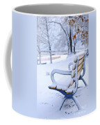 Winter Bench Coffee Mug