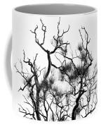 Winter... Black And White Coffee Mug