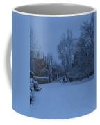 Winter Blue Britain Coffee Mug