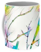 Winter Branch Colors Coffee Mug