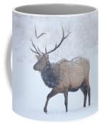Winter Bull Coffee Mug