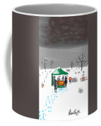 Winter Burial Coffee Mug