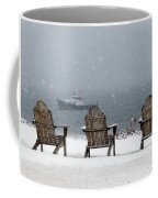 Winter By The Sea Coffee Mug