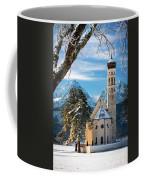 Winter Church In Bavaria Coffee Mug