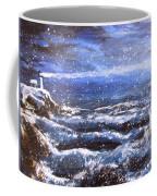 Winter Coastal Storm Coffee Mug by Jack Skinner