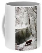Winter Contemplation Watercolor Painting Coffee Mug