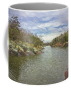 Winter Day On The Canal Coffee Mug