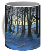 Winter Day's End Coffee Mug