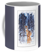 Winter Deer 1 Coffee Mug