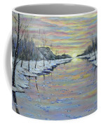 Winter Expression Sunrise Coffee Mug